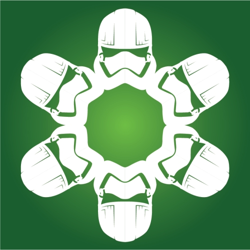 Captain Phasma - Star Wars Snowflake