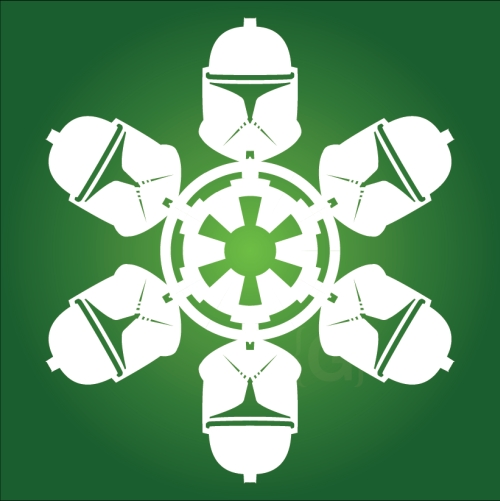 Clone Trooper - Star Wars Snowflake