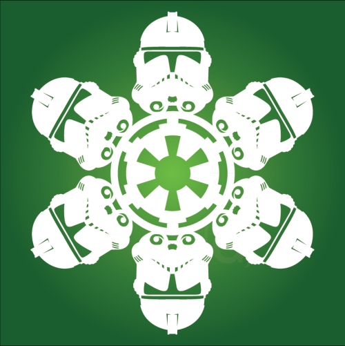 Clone Trooper 2 - Star Wars Snowflake