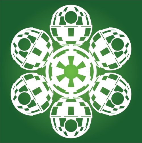 Death Star - Star Wars Snowflake
