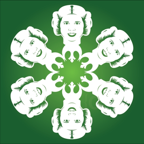 Princess Leia - Star Wars Snowflake