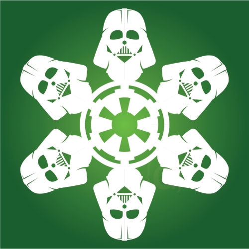 Darth Vader - Star Wars Snowflake